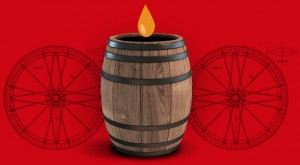 Primer barril de cerveza portátil