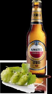 Amstel Oro Cerveza Premium