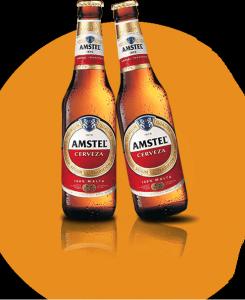 Botellas cervezas Amstel