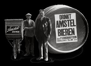 20.000.000 de litros de cerveza Amstel en 1907