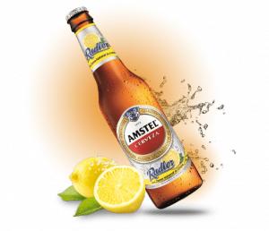 Botella Radler Amstel