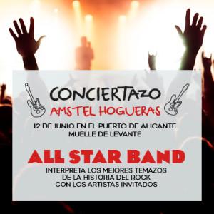 Concierto en las Hogueras de Alicante gracias a AMSTEL