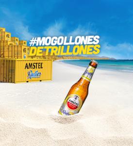 Este verano #MogollonesDeTrillones de Amstel Radler