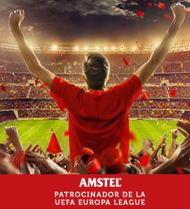 Amstel, patrocinador de la UEFA Europa League