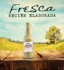 Amstel Fresca Recién Elaborada