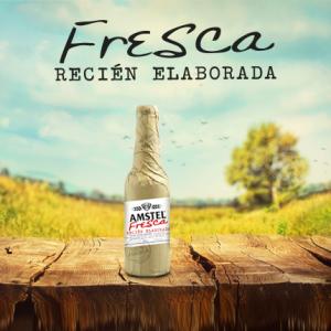 Amstel Fresca, recién elaborada
